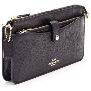 Coach Women's Pop-up messenger in polished Leather